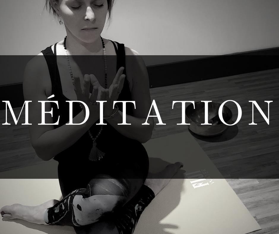 Méditation Claudie description